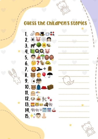 GUESS-THE-CHILDRENS-STORIES-pdf-724x1024-640x480 Guess the Emoji Print Out Sheets