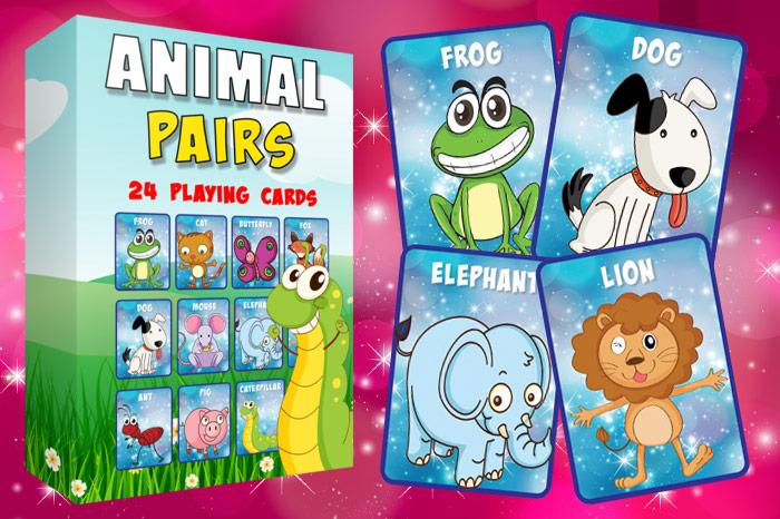 Animal Pairs Game