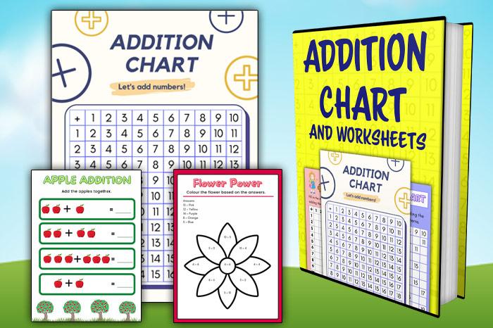Printable Addition Chart PDF