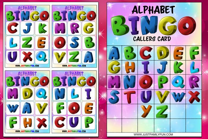 Alphabet Bingo PDF